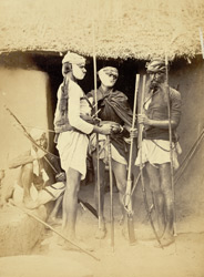 Group of Purriar Meenas, robber tribe of Rajasthan.